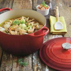 Bekijk hier het fonQy recipe voor Visstoofpotje met venkel! Recept & kookgerei vind je op fonQ.nl! Het inspirerende kook-, woon- en cadeauwarenhuis!