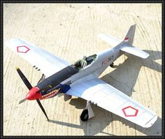 Cocor Merah (Red Beak) P-51D Mustang Fighter Free Aircraft Paper Model Download - http://www.papercraftsquare.com/cocor-merah-red-beak-p-51d-mustang-fighter-free-aircraft-paper-model-download.html