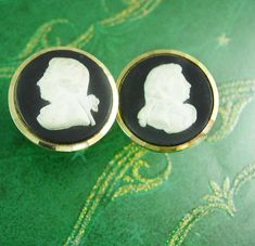 Stratton Wedgwood Cufflinks  Vintage George by NeatstuffAntiques