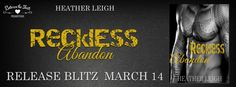 Release Blitz:: Reckless Abandon by Heather Leigh