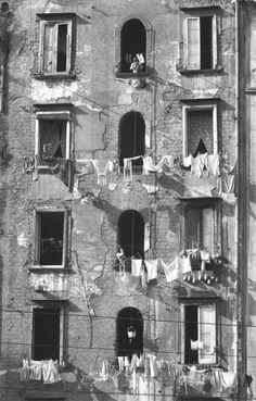 Herbert List, 1959, in Naples, Italy