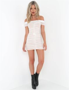 Strapless Ruched Lift Up Drawstring Women Mesh Sheer Dresses Off Shoulder Party Bodycon Dress Sexy Mini Club Dress Batwing Dress, Mini Club Dresses, Bodycon Dress Parties, Urban Dresses, Burgundy Dress, Sheer Dress, New Dress, Clothes For Women, Concert Outfits