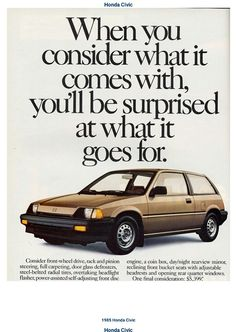 1985 Honda Civic Hatchback