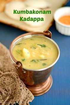 Kumbakonam Kadappa Recipe | Kadappa Recipe for Idli/Dosa | Potato Lentil Stew