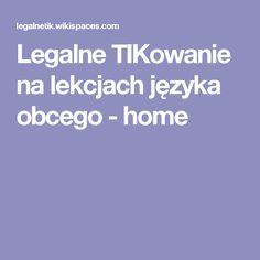 Legalne TIKowanie na lekcjach języka obcego - home H & M Home