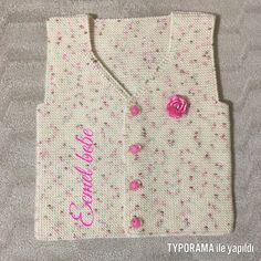 Baby Vest, Baby Knitting, Sewing Crafts, Knitting Patterns, Summer Dresses, Crochet, Sweaters, Tops, Women