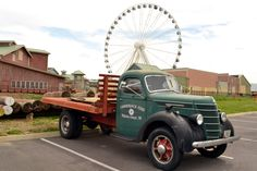 Pigeon Forge has so many family fun activities! The Wheel at the Island and the Lumberjack Feud. #familyfun