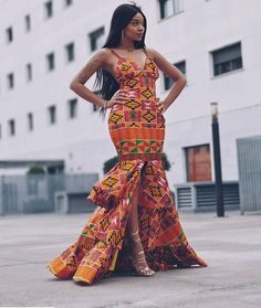 African prom dress, African clothing for women, Ankara gown, African gown, African maxi dr… – African Fashion Dresses - 2019 Trends African Fashion Designers, African Fashion Ankara, African Inspired Fashion, Latest African Fashion Dresses, African Print Fashion, African Wear, African Attire, African Prints, African Style
