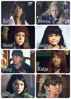 Meet some of the Leda clones as kids ❤️