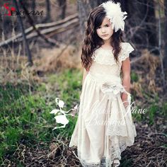 Find More Flower Girl Dresses Information about 2016 Full Length Flower Girl Dress for Wedding Vintage A Line Scoop Lace 3D Floral Bodice Zipper Back Flower Sash with Feathers,High Quality lace and bead wedding dress,China lace vintage wedding dress Suppliers, Cheap lace wrap dress from S. Dream Dreses Co,Ltd on Aliexpress.com