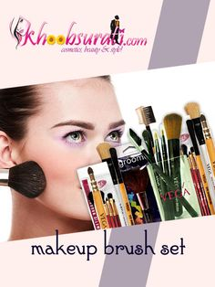 Buy Make-up brush kits  http://khoobsurati.com/make-up/makeup-kits-sets-tools/brushes