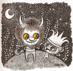 where the wild things are by Anita Mejia