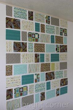 a pattern  display idea