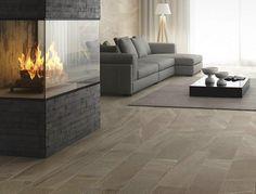 Pavimento/rivestimento in gres porcellanato effetto pietra LAKE STONE by Ceramiche Supergres