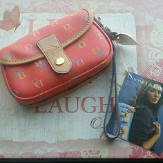 Dooney & Bourke Rainbow clutch / wallet Brand new with tags. Dooney & Bourke Bags Clutches & Wristlets