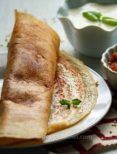 Quinoa Dosa - Fermented Crepe Recipe Quinoa Dosai converted my regular breakfast into more healthier. Super grain Dosais were super crispy and were visual treats to the eyes as well.