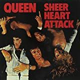 Queen's Sheer Heart Attack heralded their arrival as a major musical force. Killer Queen, the album's outstanding single was an instant classic rock anthem. Classic Album Covers, Cool Album Covers, Music Album Covers, Music Albums, Pop Albums, Cd Cover, Queen Album Covers, Brighton Rock, Musica Disco