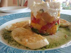 Crab & Mango stack at Peohe's on Coronado San Diego Food, Coronado Island, Mango, Appetizers, Favorite Recipes, Tours, Drink, Ethnic Recipes, Gourmet