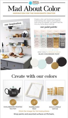 Martha Stewart Crafts® Mad About Color: September 2015