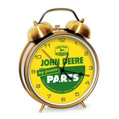 I have these for sale. Send me a message if interested. John Deere Large Twin Bell Alarm Clock – GreenToys4u.com