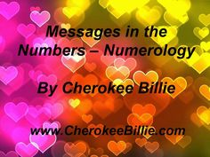 Messages in the Numbers - Numerology VIDEO