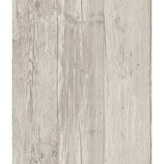 Light Grey ZB3347 Wide Wooden Planks Wallpaper