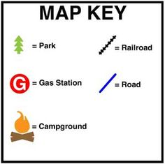 Map Keys And Map Scale - Geography For Kids - By KidsGeo.com