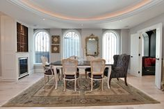 Glamorous Victorian in Yorkville: Who gets the good chair?