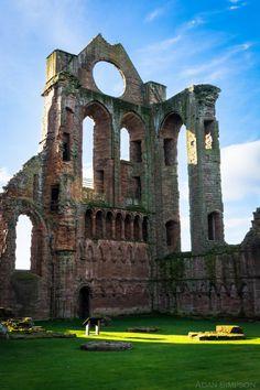 Arbroath Abbey, Angus, Scotland by Adan Simpson