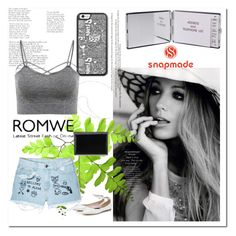 """""""snapmade.com"""" by ilona-828 ❤ liked on Polyvore featuring Aloha From Deer, Nine West, romwe, polyvoreeditorial and snapmade"""