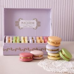 www.TheShoppingBagStore.com    Online Shopping Worldwide Delivery!    #macaron #jewelry #pastels