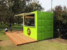 A Shipping Container Cafe or 'Pop Up Cafe' is a great way to make your business stand out. Let Port Shipping Containers show you how. Container Coffee Shop, Container Restaurant, Container Homes For Sale, Container Shop, Container Design, Shipping Container Cafe, Converted Shipping Containers, Shipping Containers For Sale, Pop Up Cafe