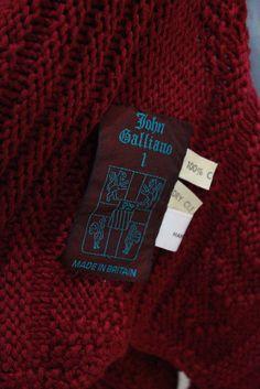 "John Galliano ""Afghanistan Repudiates Western Ideals"" S/S 1985"