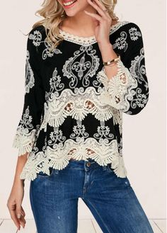 Women's Clothing Kind-Hearted Gcarol 2019 Women Lace Floral Crochet Short Blouse Full Sleeve Elastic Chest Cuff Ins Chic Shirt Spring Summer Crop Tops
