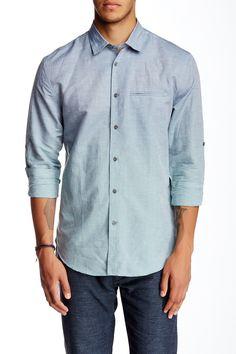 Roll Tab Slim Fit Shirt