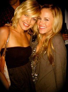 Kirsten Storms and Julie Marie Berman