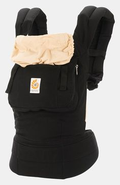 ERGObaby Baby Carrier plus get infant insert available at #Nordstrom (also on Amazon)   (Check out Ergo 360 allows parents to wear babies on their front, both forward and back facing as well as on the back)