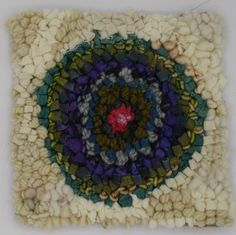 Soft Circle Small Rug Hooking Kit By Deanne Fitzpatrick