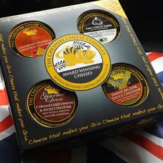 4 x Cheese Gift Box + Free Cheshire Cheese Club Membership! The perfect and thoughtful gift for fathers day!