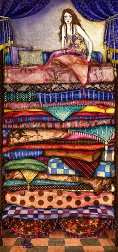 Princess And The Pea by Cherifa Wexler