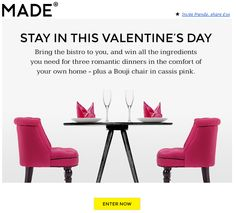 #Valentines email from Made.com #emailmarketing