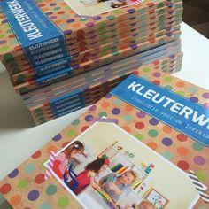 Het boek Kleuterwerk is binnen! Nu bestelbaar en meteen leverbaar http://onderwijsstudio.nl/product/kleuterwerk-boek/