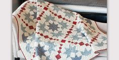 """Four Quilt Sizes are Included in the Pattern! This delicate, homey quilt is based on an antique. The pattern has been modernized for today's quilters, yet retains its vintage charm. The fabrics you choose will have a big impact on the look of the finished quilt. Choose fabrics with a soft """"washed"""" look to replicate …"""