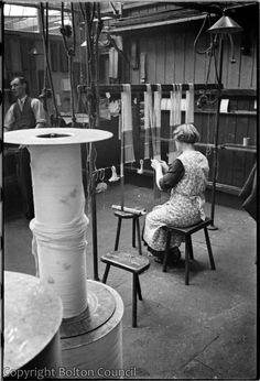 Mill Interior By Humphrey Spender - November 1937