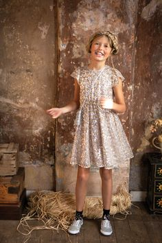 @ilovegorgeous Wonder Dress - Silver/Gold #aw15 #collection