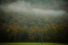 Low Cloud over Appalachia