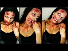 The Walking Dead Zombie Makeup