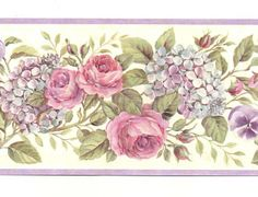 pink and lilac florals