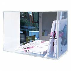 Acrylic mirror wall cube shelves 50x35x25 - Cubi in plexiglass modulari - #design #designtrasparente #acrylic #plexiglass #home #minimal #interior