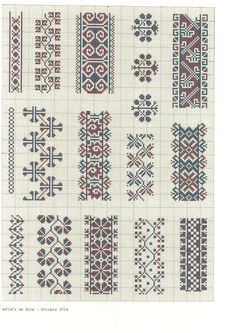 This Pin was discovered by mil Cross Stitch Sampler Patterns, Cross Stitch Borders, Cross Stitch Samplers, Cross Stitch Charts, Cross Stitching, Cross Stitch Embroidery, Loom Patterns, Beading Patterns, Embroidery Patterns